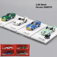 JEC 1/64 Ferrari 250GTO Limited Edition Automodell mit Figur #10 #15 #18 #112