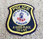 Bristol Virginia Police Shoulder Patch