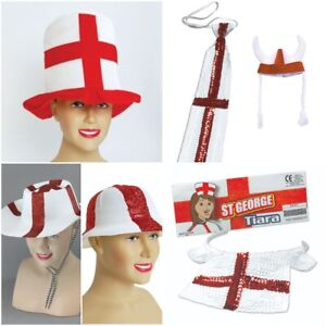 Saint Georges Day England World Cup Football Euros ST George Accessories