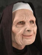 Nun For You Mask Funny Old Woman The Town Halloween Costume Party Funny M6006
