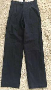 Hugo Boss Golf Black Label Pants 30x34 Roberts Pleated Brushed Cotton Twill NEW