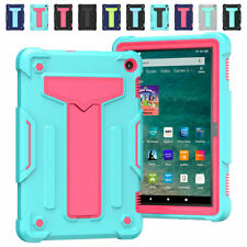 """For Amazon Fire HD 8"""" (2020) Plus 10th Gen Tablet Kickstand Case Back Hard Cover"""