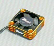 1/10 COOLING FAN Heat Sink Max Speed Aluminum Lightweight High Air Flow GOLD