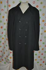 Vintage MENS 46 OUTERKNITS CAMPUS DOUBLE BREAST FRONT blue COAT Lined retro USA