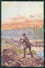 Militari Esercito Italiano Genio ABRASA cartolina XF0637