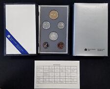 1988 Canada Specimen set! Six uncirculated coins and COA!