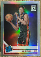 2019-20 Donruss Optic Kz Okpala Silver Holo Rated Rookie #189 Heat