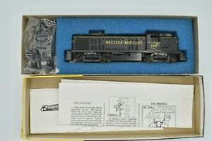 Western Maryland Alco RS-3 Locomotive #180 Roundhouse 2381 New Gears HO Kit
