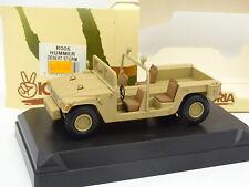 Velocidad Victoria Militar Army 1/43 - Hummer Desierto Storm