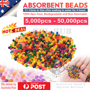 11-13mm Water Beads Orbeez Gel Balls Crystal Jelly Soil Vase Wedding Centrepiece
