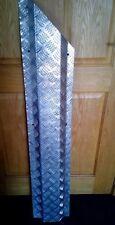 3mm Aluminium Tread Chequer Kick Plate Treadplate 5 Bar Sheet Door Step