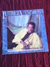 LUTHER VANDROSS - GIVE ME THE REASON  TOUR PROGRAMME - 1987