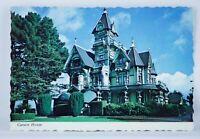 Unposted Postcard Vintage 1977 Carson House Eureka California Robert Freemon