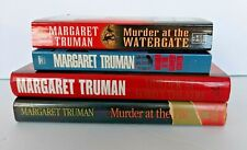 Margaret Truman Books Lot of 4 Murder at the Ford's Theatre, Kennedy Center plus
