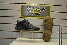 Dr Martens Zak 7-Eyelet Black Leather Boots UK Size 9 EU 43