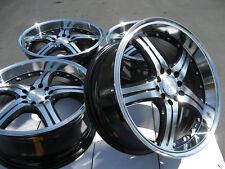 17 5x110 5x108 Polished Wheels Fits Ford Focus Volvo Saab Malibu Escape Rims
