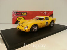 "Slot Scalextric Pink-Kar CV 010 Ferrari 250 GTO Spa 1965 ""Amarillo"" Nº31"