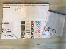 New Happy Planner Desk Calendar 22x17 202122 47 Stickers Amp 40 Teacher Sheets