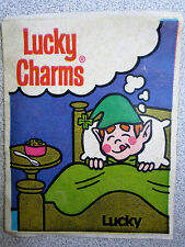 Vintage Lucky Charms Kids Cereal Toy Prize STICKER Rare 1970's? Hard to Find!