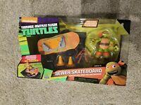 Teenage Mutant Ninja Turtle Sewer Skateboard Mikey & Stunt Ramp