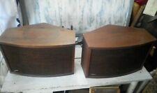 Vintage Bose 901 Series lV speakers untested nr
