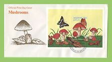 Butterflies First Day Cover Asian Stamps