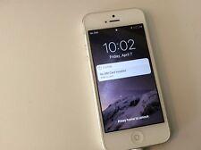 Apple iPhone 5 - 32GB - White & Silver (Unlocked) A1429 (CDMA + GSM)