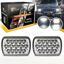 2pcs Headlights Sealed Beam Hi/Lo Dual Beam White 6000K LED CREE for Chevy