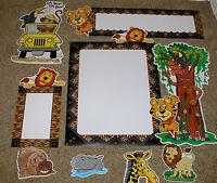Teacher Resource: Jungle Theme Bulletin Board Set