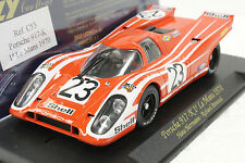 FLY C53 PORSCHE 917K LE MANS 1970 1 ST PLACE NEW 1/32 SLOT CAR IN DISPLAY
