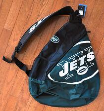 NY New York Jets BackPack / Back Pack Book Bag NEW - TEAM COLORS - SLING