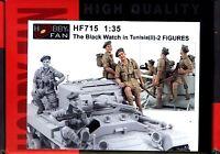 Hobby Fan 1/35 HF-715 WWII British The Black Watch in Tunisia (II) - 2 Figures