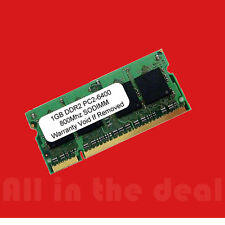 1GB SODIMM PC2-6400 DDR2 DDR-2 800mhz 800 Laptop 200-pin Memory Dell HP RAM