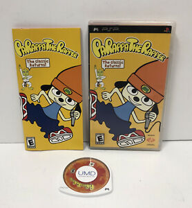 PaRappa the Rapper (Sony PSP, 2007) Complete CIB With Manual