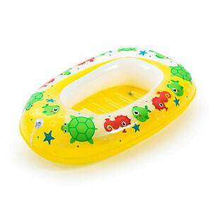Bestway Kinder Schlauchboot Gummiboot Paddelboot Kleines Badeboot Schwimmring
