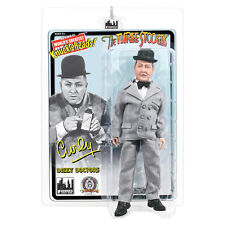 The Three Stooges Mego Style 8 Inch Action Figures: Dizzy Doctors Curly