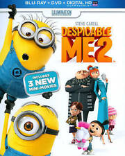Despicable Me 2 (Blu-ray/DVD, 2016, 2-Disc Set)