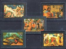 Lacquerware Paintings 5 mnh stamps 1981 Russia #5063-7