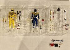 Mighty Morphin Power Rangers Custom Blue Yellow H.S. Figuarts