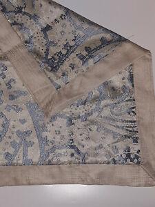 MARTHA STEWART COLLECTION 4 Piece Standard/Euro Shimmer Paisley Pillow Sham Set