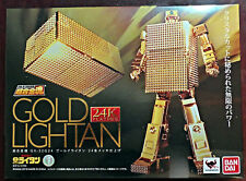 2018 Bandai Tamashii Soul of Chogokin GX-32R Gold Lightan 24K Gold Finish NY
