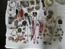 Modern Sports Team Jewelry Pieces - Look! Fabulous Lot Of 70 Assorted Vintage &
