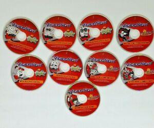 Lot 9 Video Now Discs 5 SpongeBob 4 Fairy Odd Parents 17 Shows