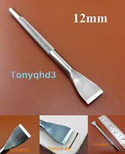 1pc Leather Craft Pro Line Lacing Chisel Pricking Iron Punch Tool 1x12mm  NEW