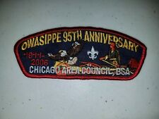 Boy Scout Chicago Area Council Camp Owasippe 95th Anniversary 2006 CSP/SAP