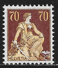 Switzerland stamps 1907 YV 125  MNH  VF