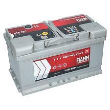 Autobatterie 12V 85Ah 760A EN FIAMM PRO Premium Batterie ersetzt 80 82 84 90 Ah