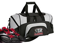 Alabama Crimson Tide Small Duffle Gym Bag or Travel Duffel