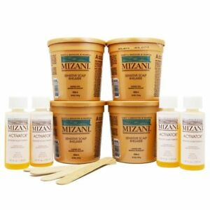 Mizani Sensitive Scalp Relaxer 4 Application Kit