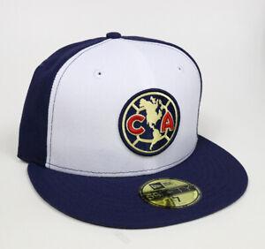 New Era Club America Aguilas 59FIFTY Fitted Hat Gorra Cerrada Navy/White/Navy